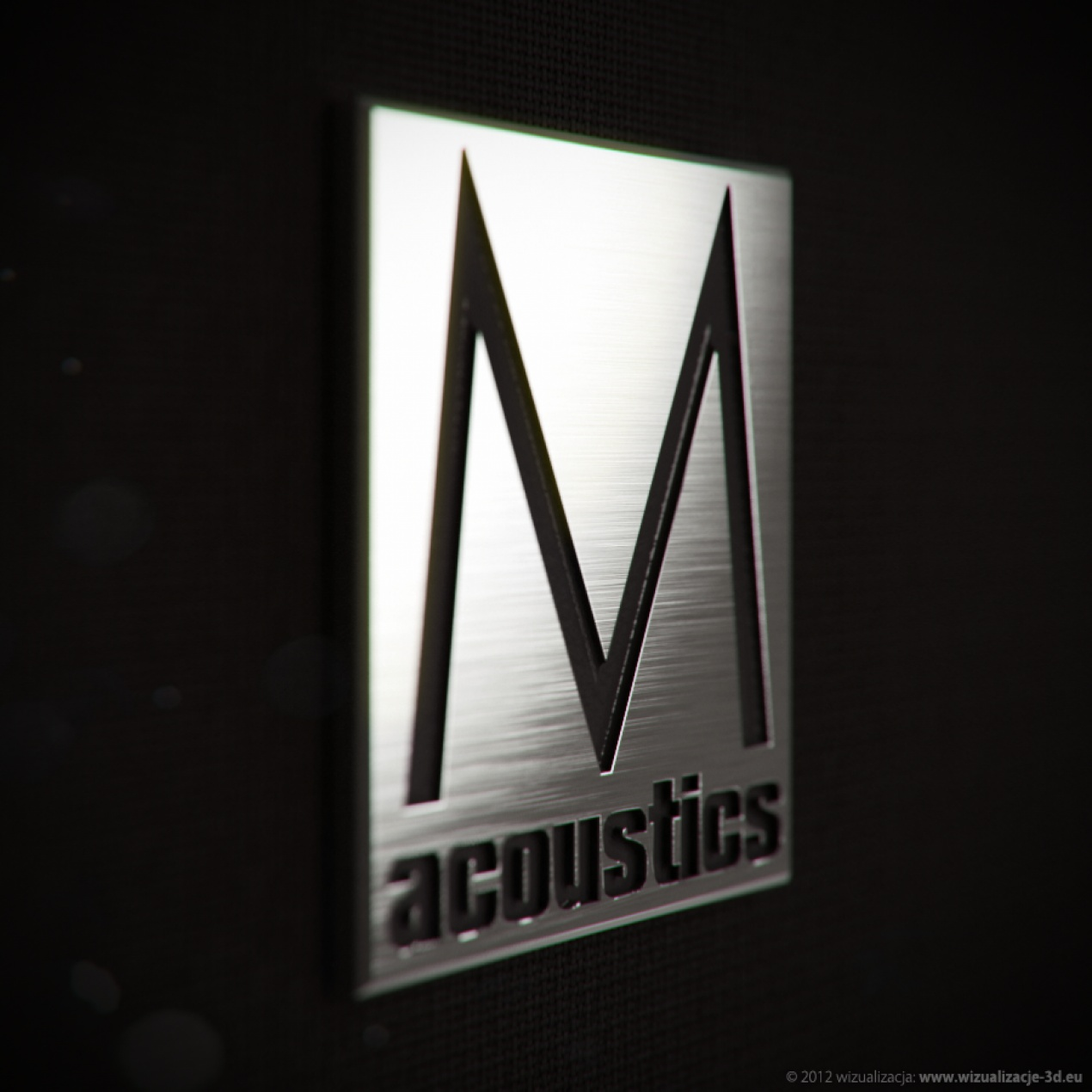 Macro Visualization - M Acoustics LOGO
