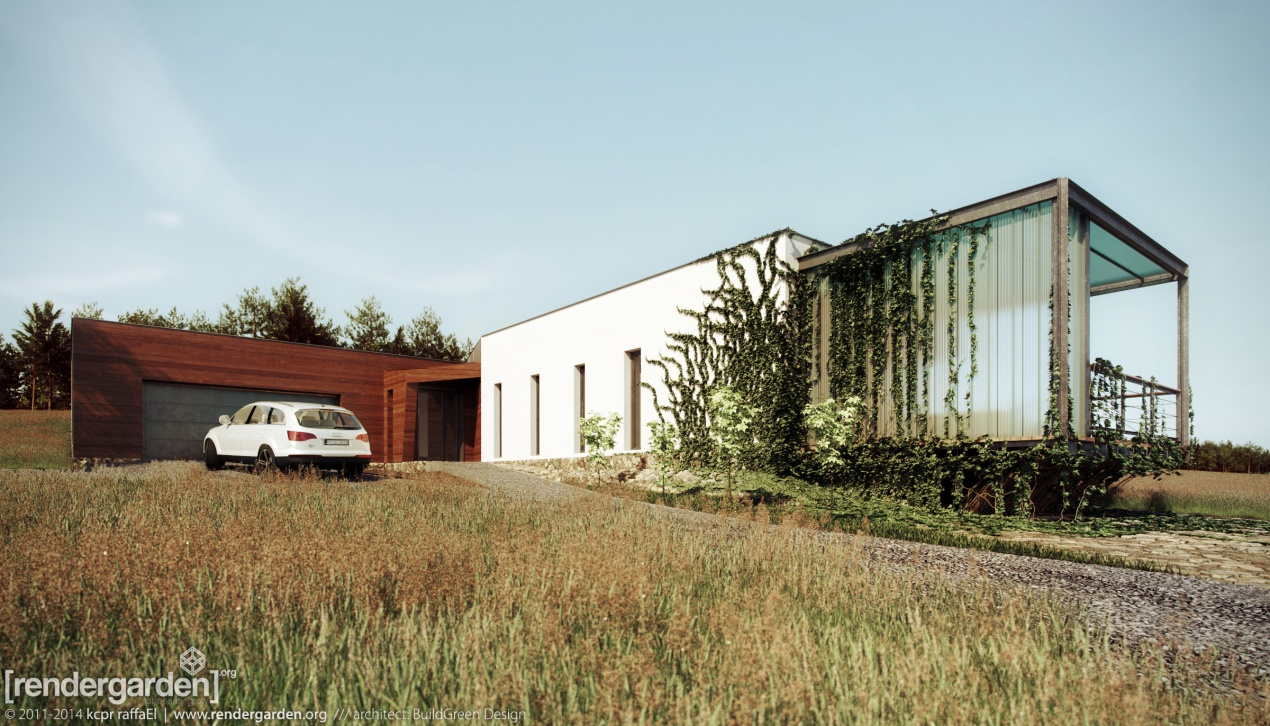 Eco-Passive House in Bieszczady - Second Shot